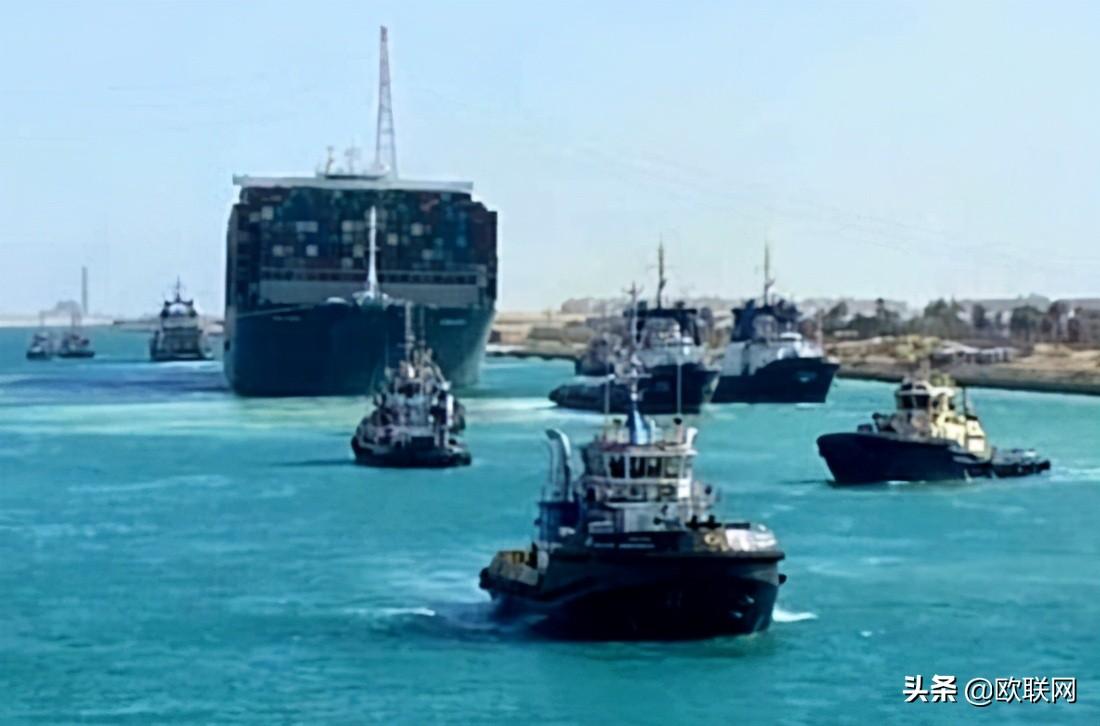 苏伊士运河结束堵塞困局 所有受困货轮将全数通过