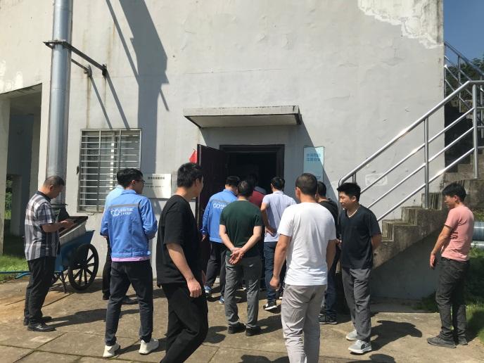 广信区组织企业召开环保现场观摩交流会