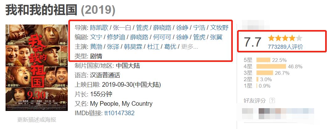 《我和我的家乡》邓超组官宣阵容强大,苗阜吴京王源孙俪出演