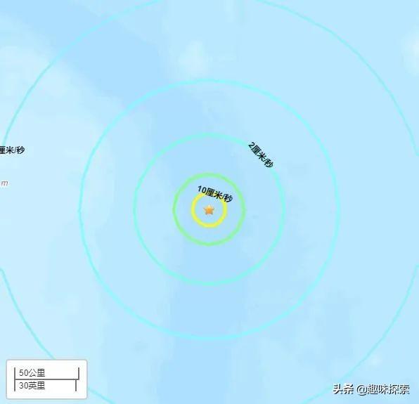2020年3月,全球出现第二个6级以上强震,由太平洋板块收敛制造