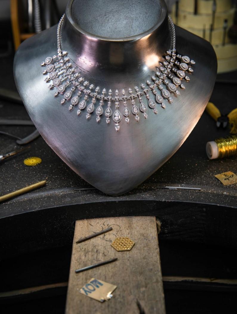 顶级珠宝欣赏-从设计到成品