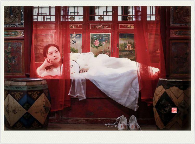 人像摄影:梦回龙园