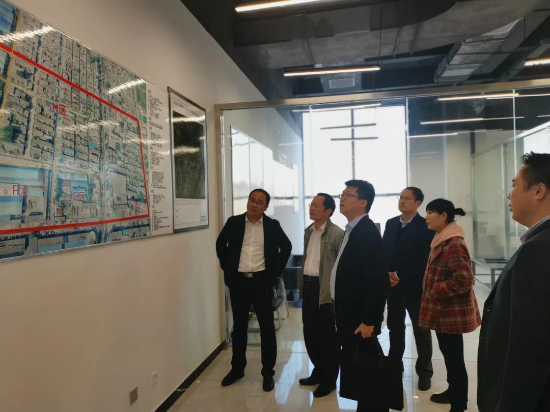 市委组织部赴高铁片区督导绿地、恒大项目专班工作