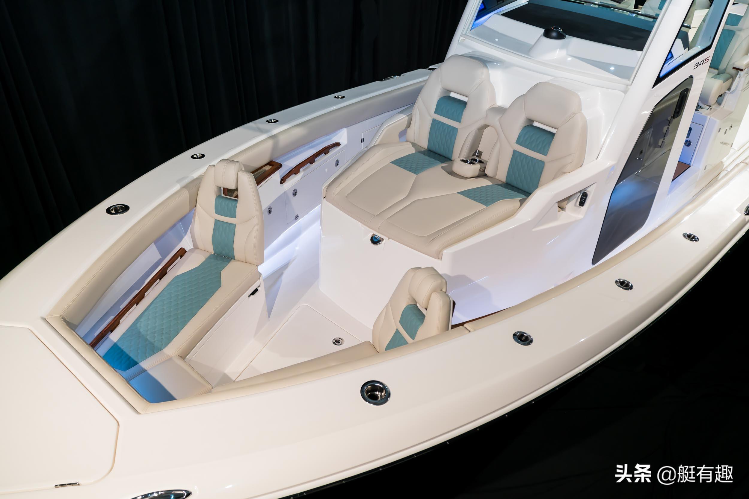 Solace 345游艇,你从未见过的中控钓鱼艇设计,一艘钓鱼者的梦想
