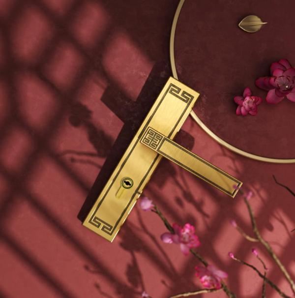艺术时尚双拳出击,高定版的顶固门锁玩出国潮新花样