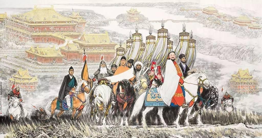 元朝11帝,一头一尾58年,中间40年9位皇帝斗了个你死我活