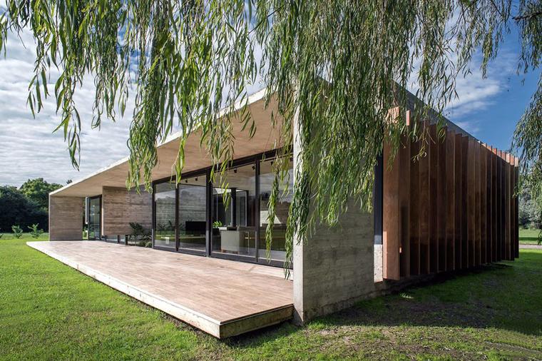 [建筑案例]阿根廷Rodríguez混凝土住宅