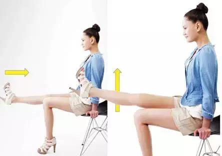 小腿太粗了怎样才能变细腿?办公室瘦腿4妙招,让你坐着也能瘦腿