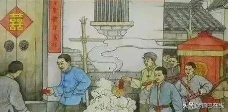 镇巴传统民俗-娶亲