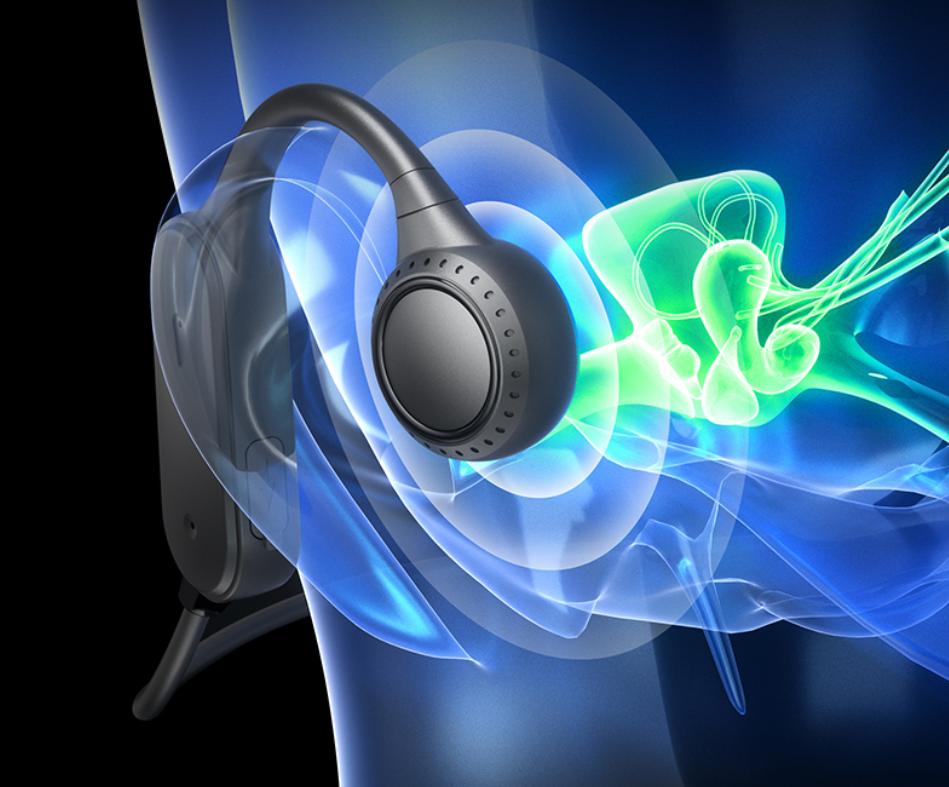 夏日运动随身单品,这款骨传导耳机安全舒适,让耳朵时刻保持清爽