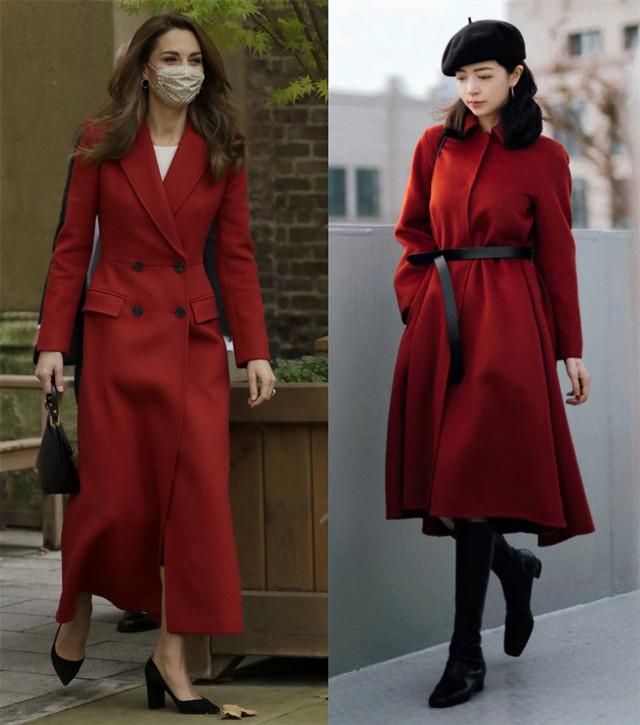 好多人喜欢红色,但肤色和配色有讲究,日杂教你如何配色会显白