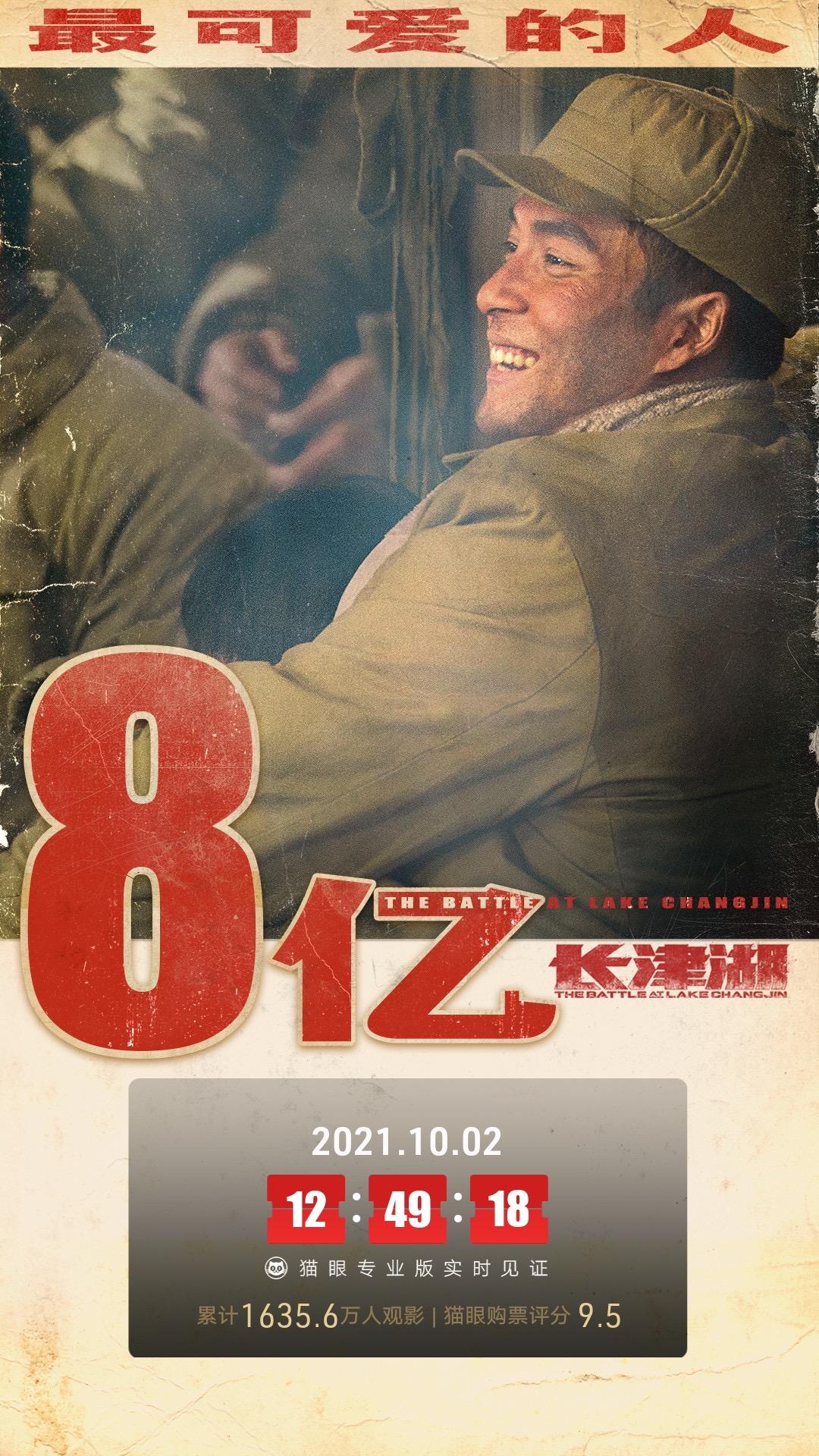 长津湖票房破8亿,老兵回忆战争细节,战士们冻伤截肢都不哭