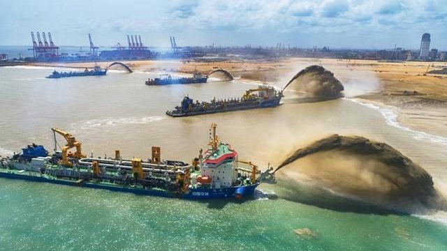 世界最大的人工港口,面积2.4万平方米,曾归中国永久使用