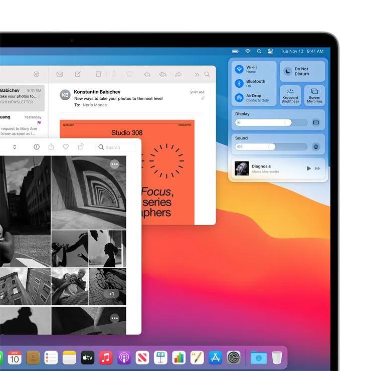 苹果「芯」Mac登场了。