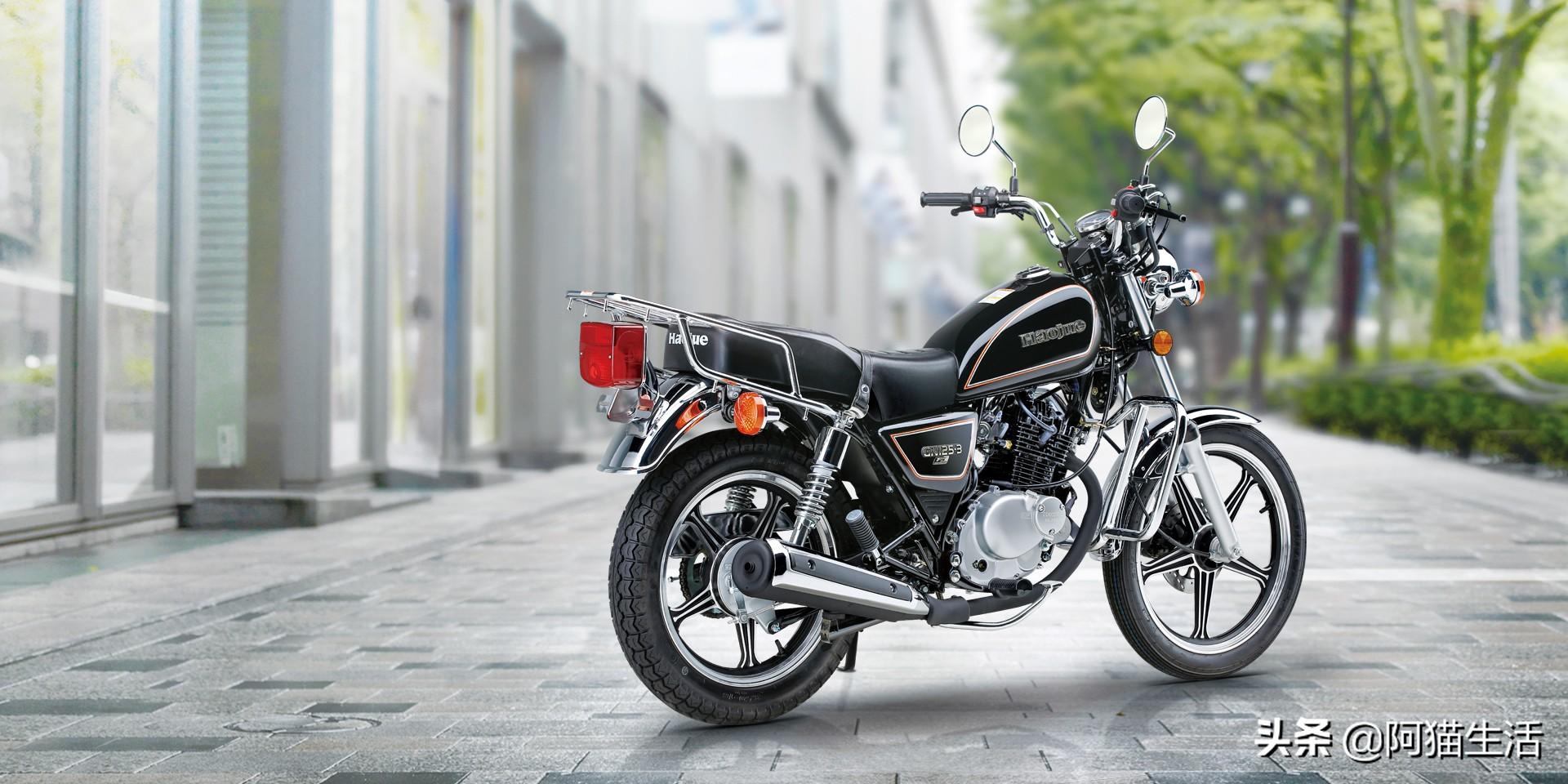 一代經典的铃木摩托GN125摩托车,现如今是不是還是长青树?