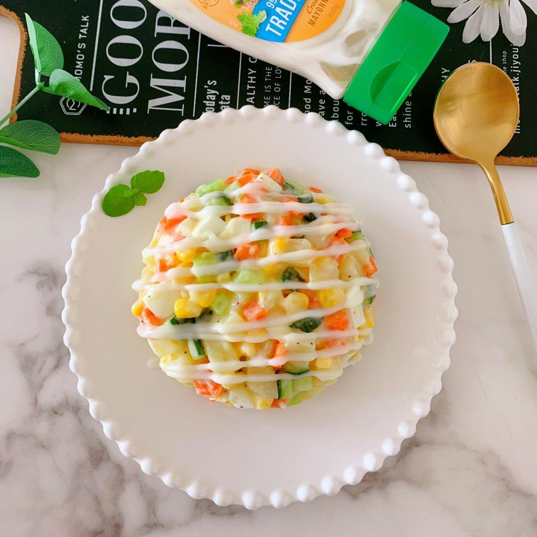 仙女轻食沙拉做法步骤图 低脂低卡解馋好吃