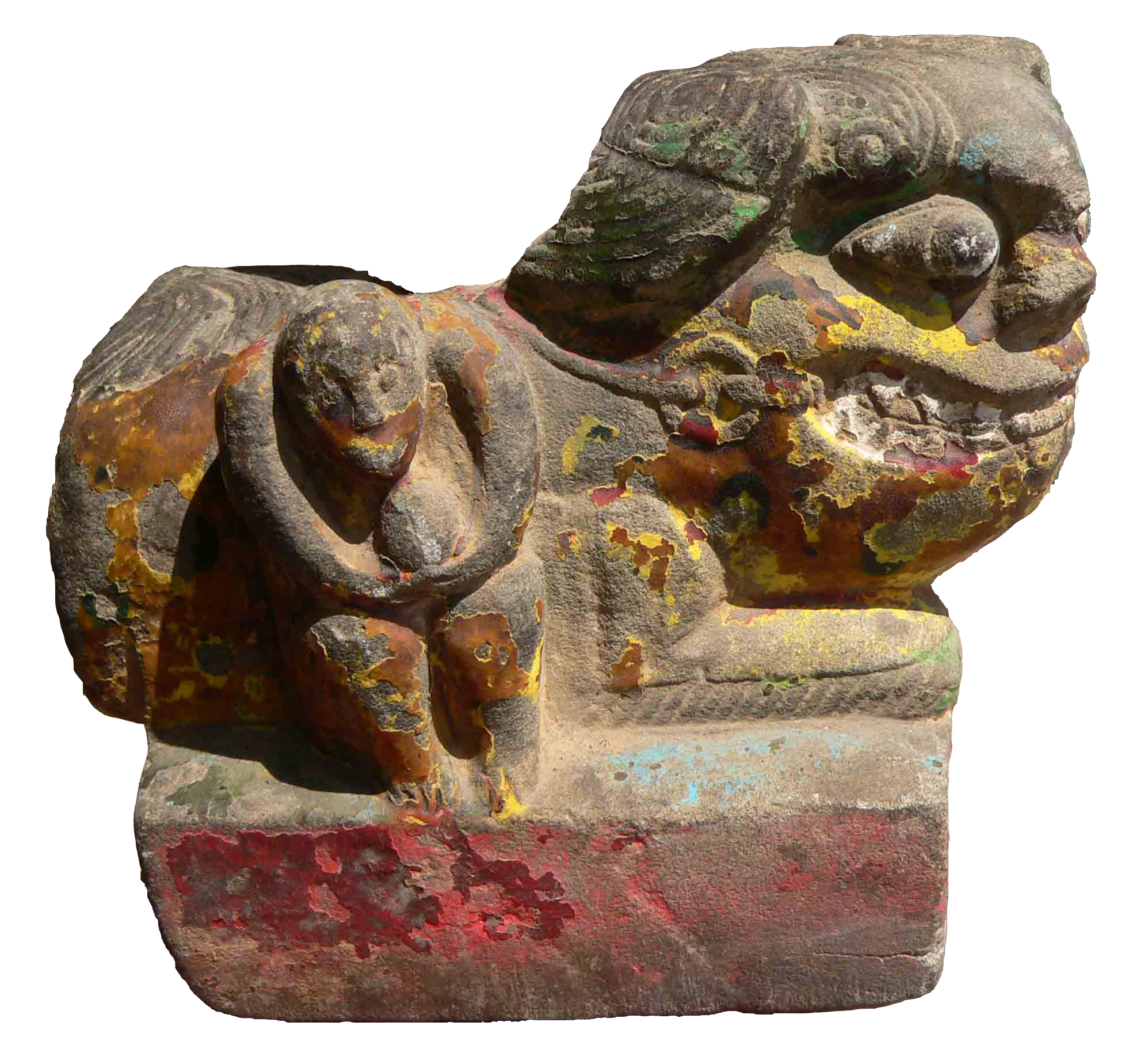 中国的土地上原本不生存狮子,为什么会出现艺术形象的炕头石狮?