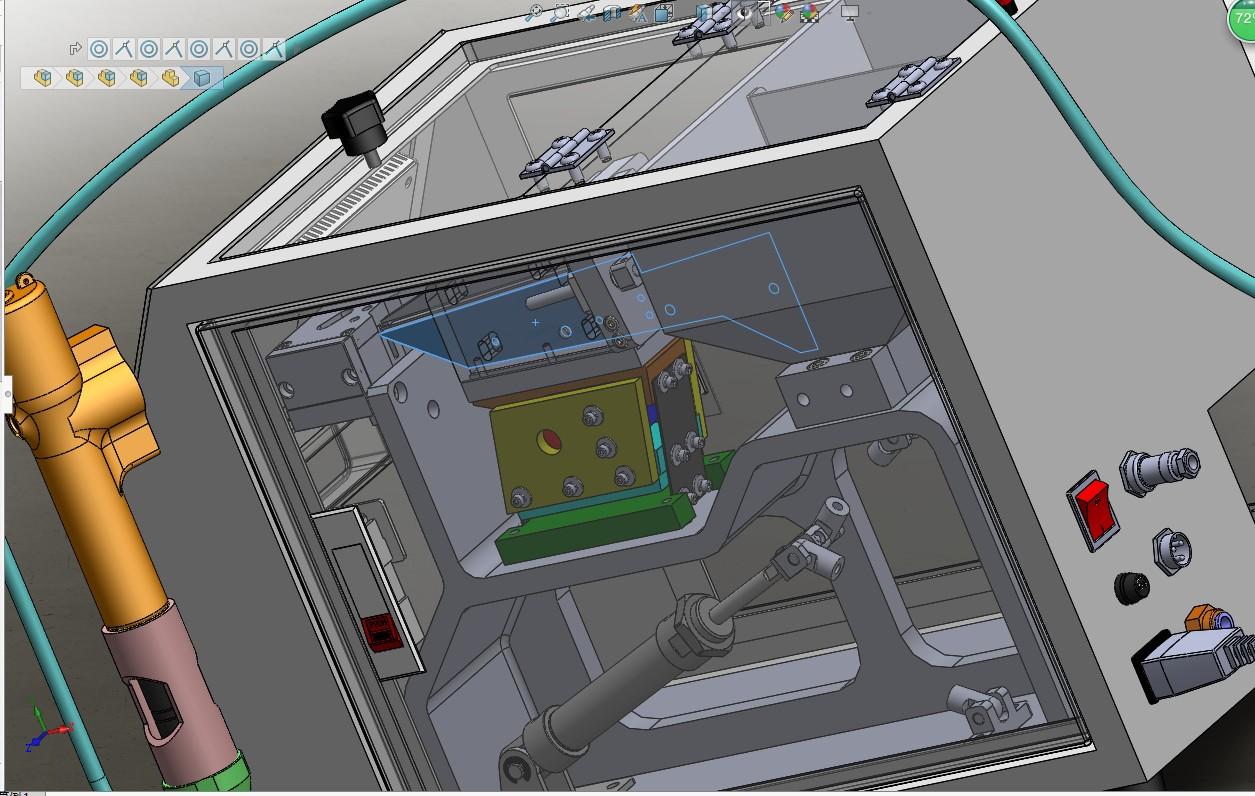 螺丝自动供料机-电动螺丝批3D数模图纸 Solidworks设计 附STEP