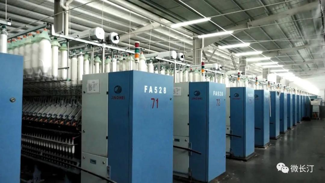 长汀县纺织企业:加快技术设备改造 持续推进产业转型升级