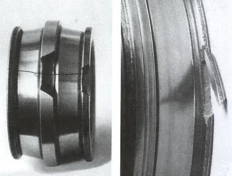 轴承套圈常见的开裂及原因
