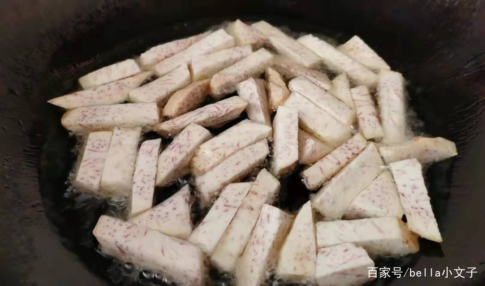 潮汕小吃翻砂芋头教程 美食做法 第3张
