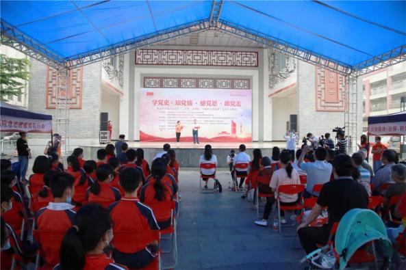 佛山市禅城区张槎街道党员群众:大榕树下学党史悟思想