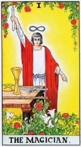 塔罗学习牌意解读魔术师, 塔罗牌Ⅰ.魔术师(正位/逆位)意义解读  第2张