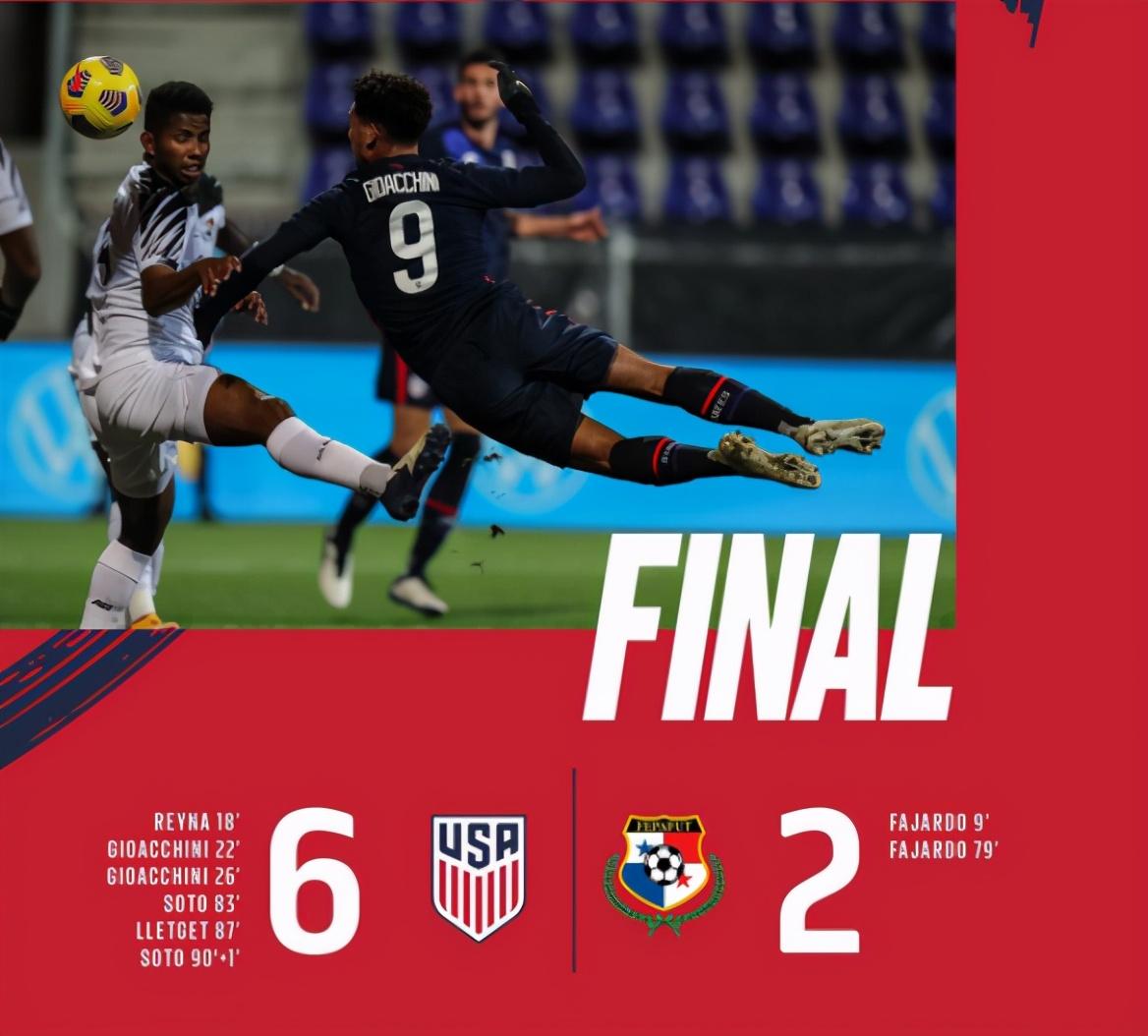 6-2---美国横扫世界杯新军!3大00后新星包揽5球