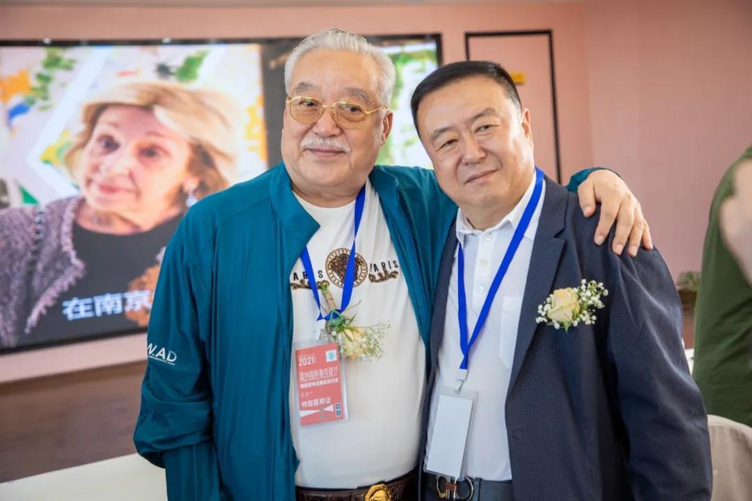 影海扬帆 诗书画三绝、文化名人丁一先生参加第三届戛纳国际微电影