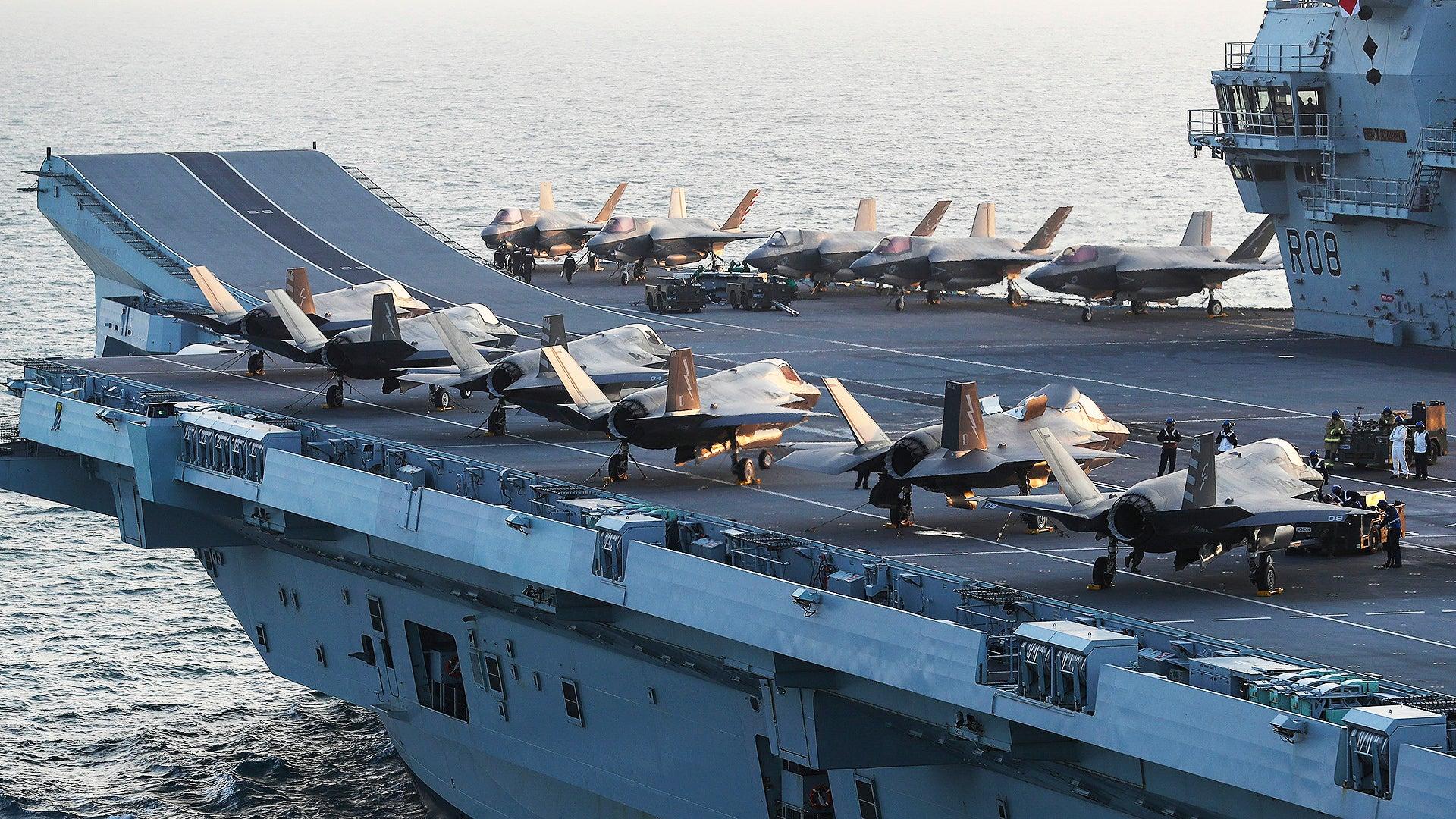 尚未到南海就认怂了?英国铁心南海部署航母,英媒:或被中国攻击