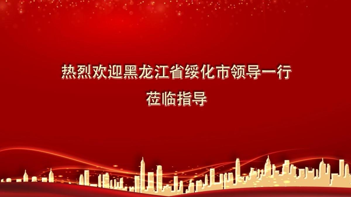 北林区李文艺区长考察中慈控股集团并达成多项战略合作意向
