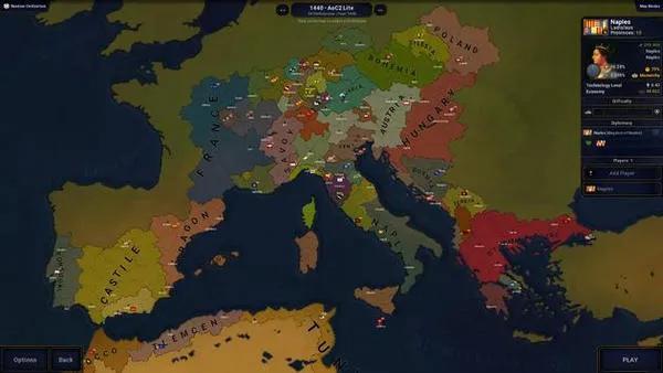 今天给大家推荐一款类似欧陆风云的手游文明时代二