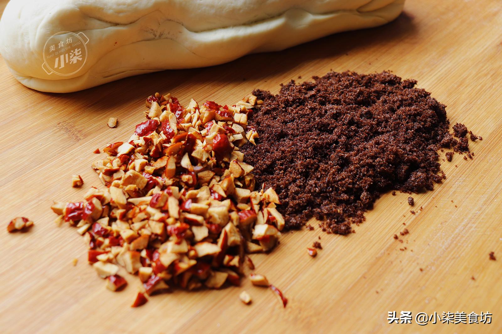 紅糖大棗饅頭正確做法,不用紅糖水,香甜鬆軟又好吃,個個都開花