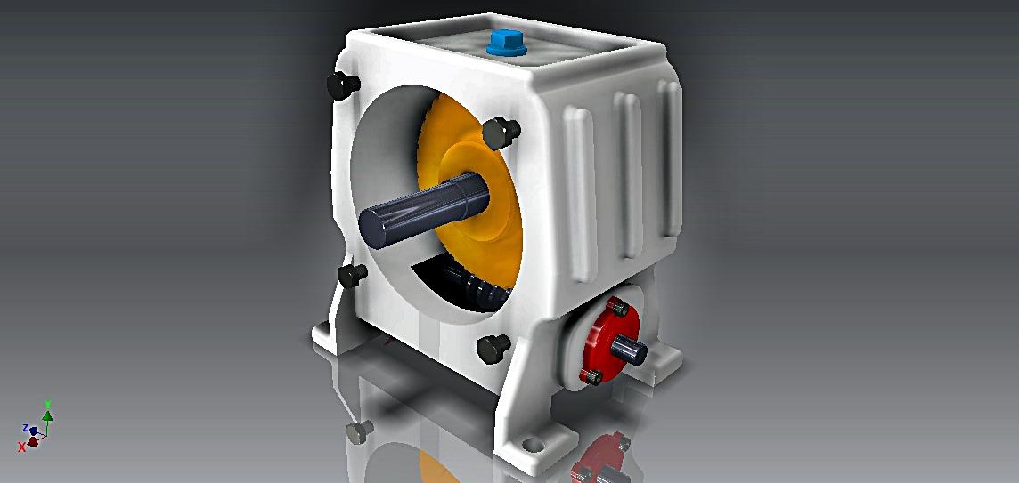 Reducer Model减速箱模型3D图纸 IGS格式