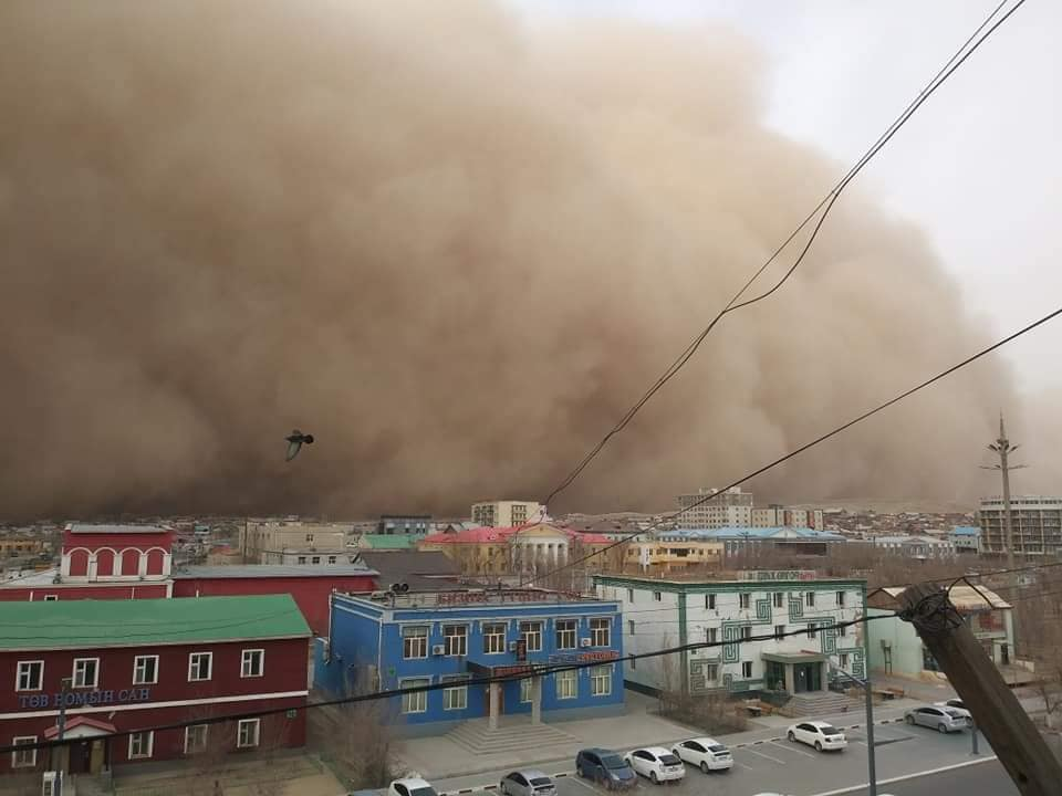 北京最强沙尘暴的背后,是被沙吞噬的蒙古国