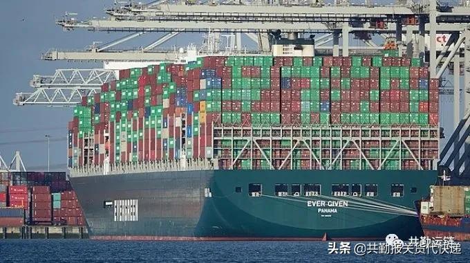 """船舶""""永济号""""终于离开了苏伊士运河"""
