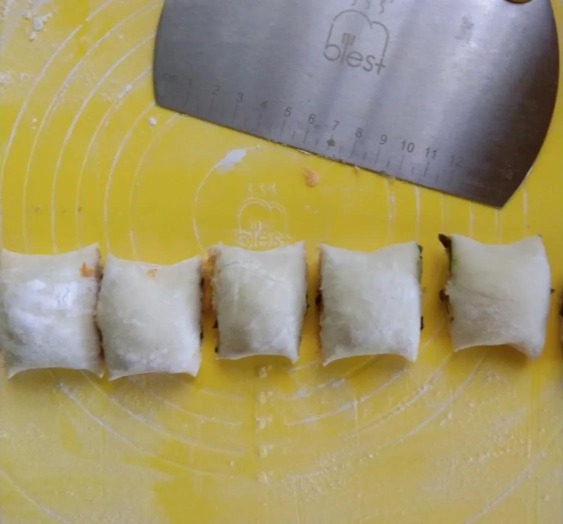 好吃到停不下来的肉松手撕馒头卷 美食做法 第11张