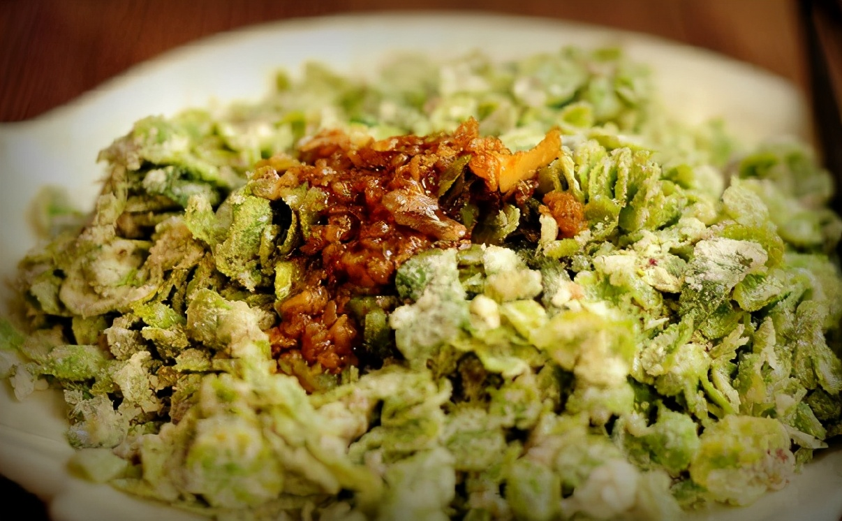 这野菜季节性强,遇到别错过,不含草酸,铁含量高,没吃过要抓紧 美食做法 第8张