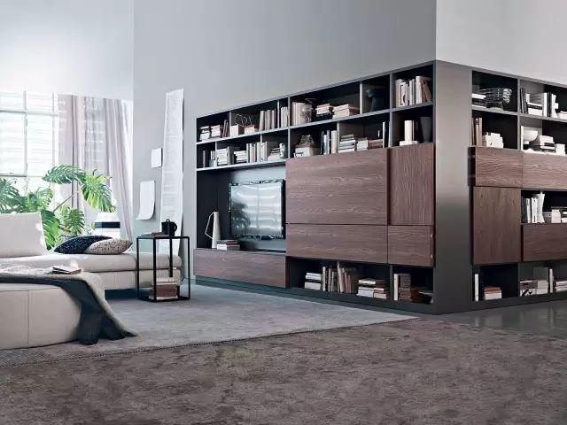 别再买电视柜了,现在流行这样设计,美到背景墙都不用装还实用