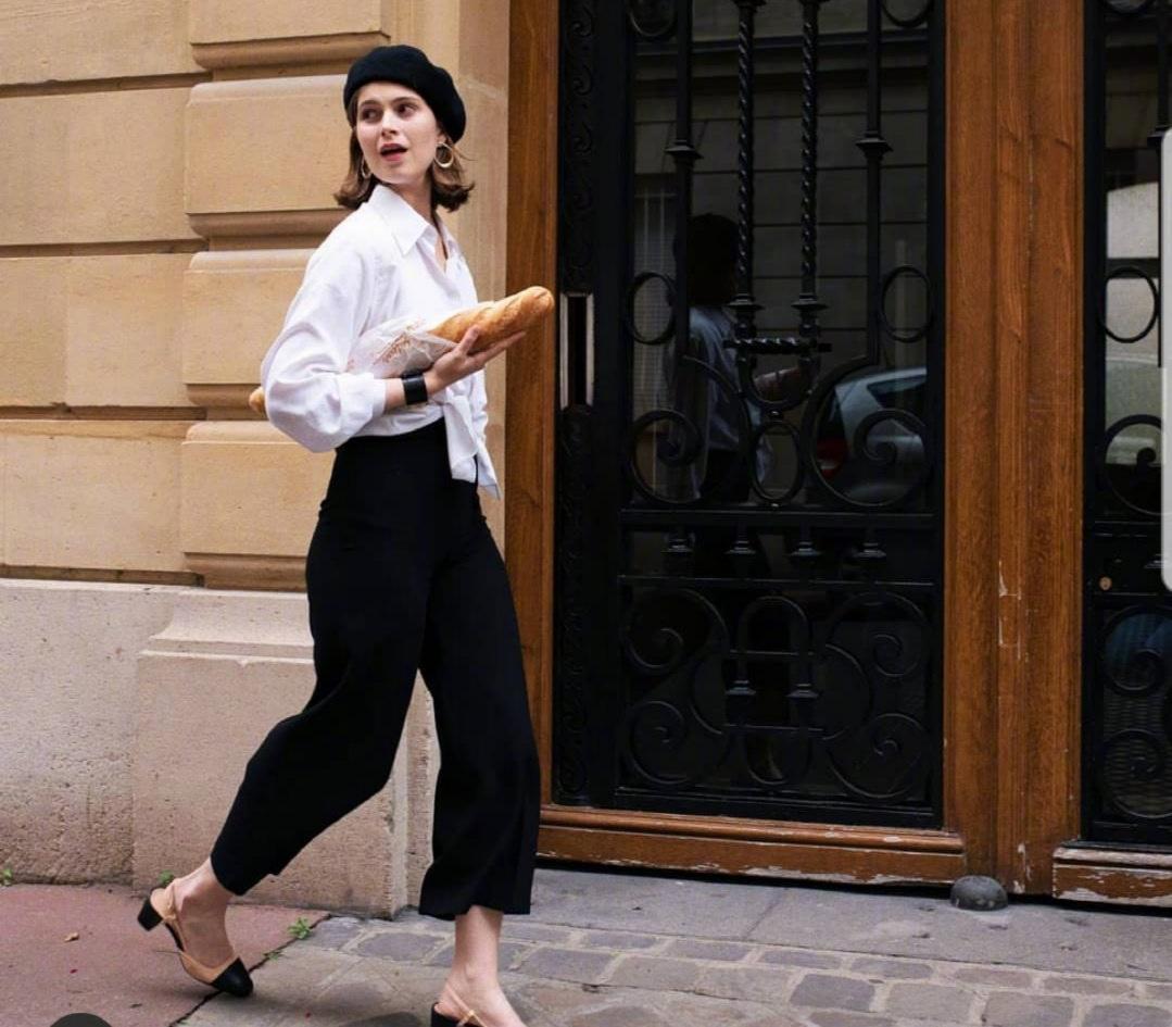 合穿四十岁女生的法式穿搭,精致优雅的休闲风,轻松穿出女神范