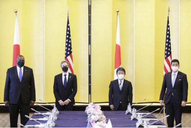 美国防长吃到中国的闭门羹!社评:日本卑躬屈膝让奥斯汀狂妄无知