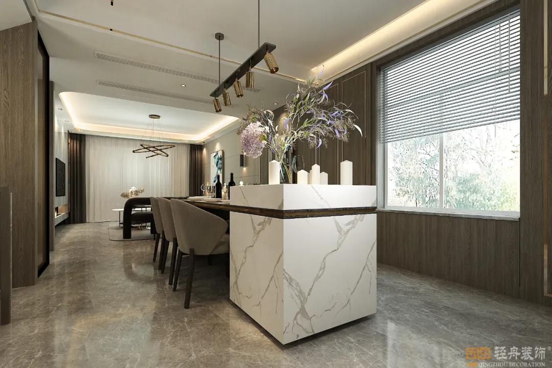 首发 | 泰安泰山院子360㎡,主案设计师李晓东「轻舟出品」