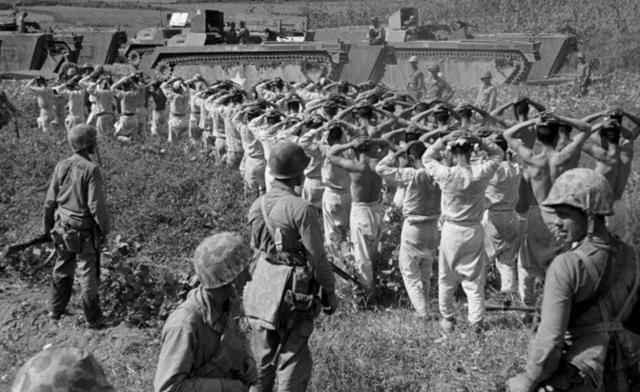 """陆战一师:曾暴打日军!却因帮助国民党,被我军用""""震撼弹""""击败"""