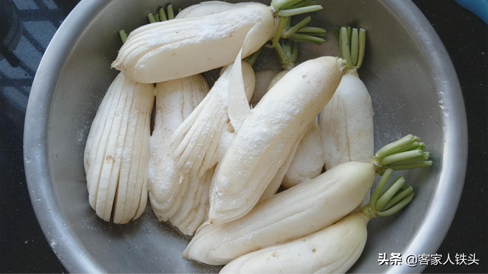 客家人百吃不膩的蘿蔔吃法,傳統味口感好,酸辣爽口好吃到不想停