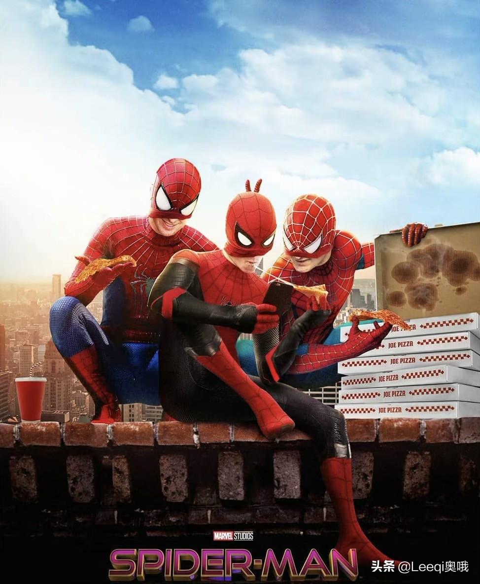 《蜘蛛侠3》杀青 荷兰弟分享照片 隐藏三代蜘蛛侠同框细节?