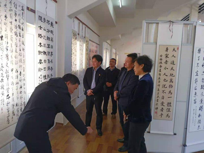 石家庄市政协副主席葛瑞芳一行到高邑调研文体设施