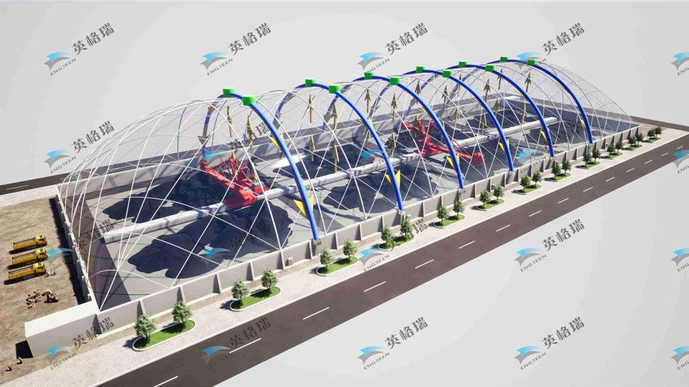 膜結構建筑在施工審批后續運營方面更為便利