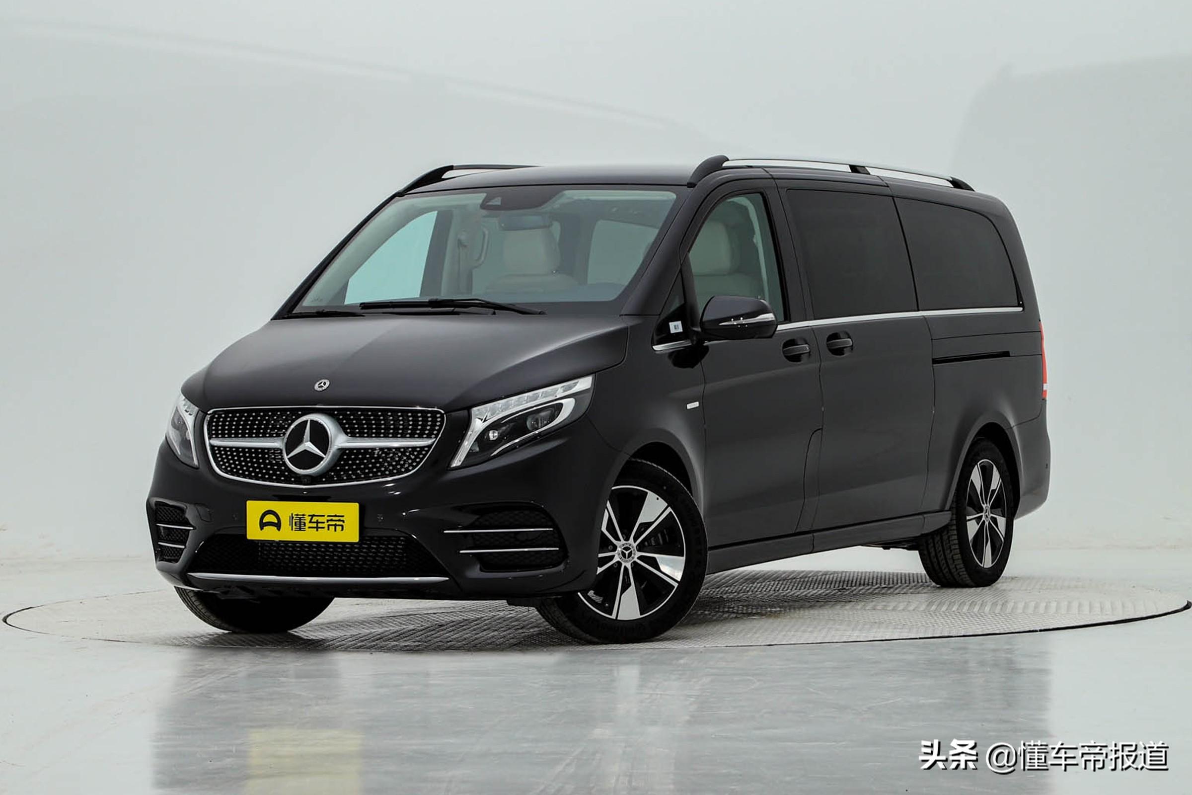 曝光 | 预售价49-63万元,福建奔驰新款V级实车发布