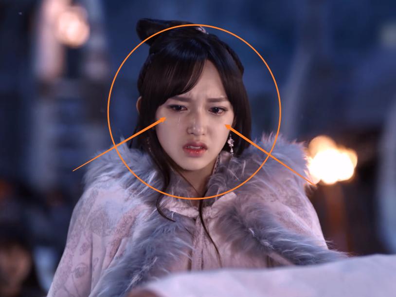 """程潇《灵域》哭戏引关注,当镜头对准她的脸拍,怕是""""仙女落泪"""""""