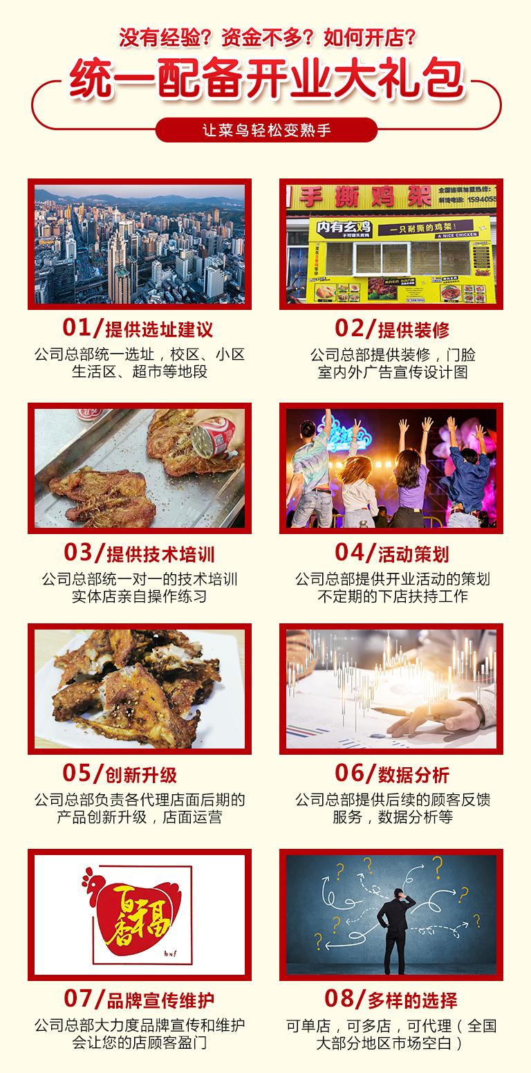 中国名吃百姓创业的引领者,百香福手撕鸡架